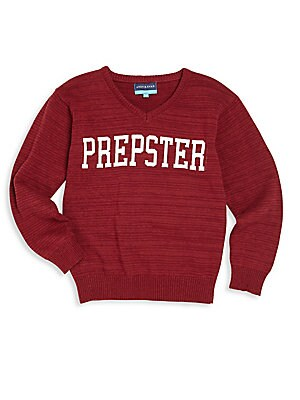 Baby's, Toddler's & Little Boy's Prepster Graphic Sweater