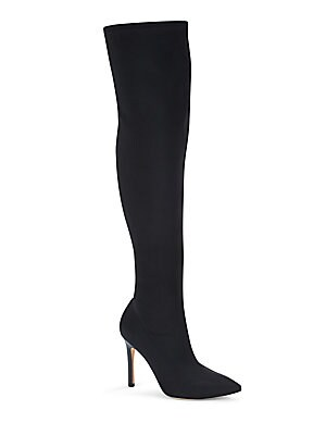 Point Toe Over-The-Knee Boots