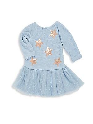 Girl's Sequin Star Dress