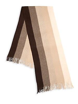 Striped Cashmere Scarf