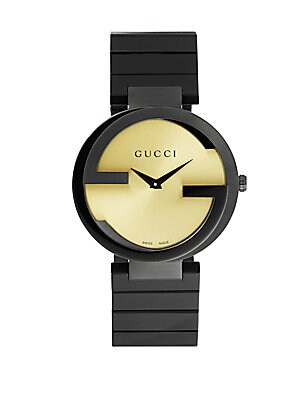 gucci female stainless steel watch