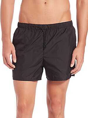 Perry Solid Swim Shorts