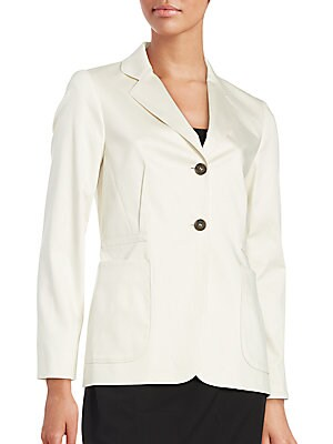 Stretch-Cotton Blazer
