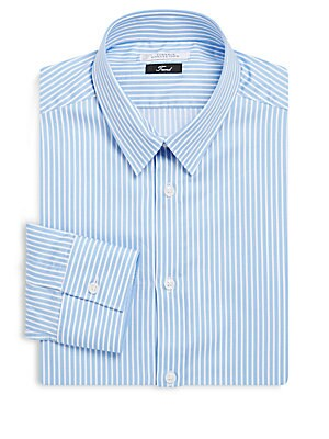 Bengal-Striped Dress Shirt