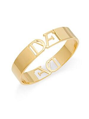 Belle de Jour Cutout Bangle Bracelet