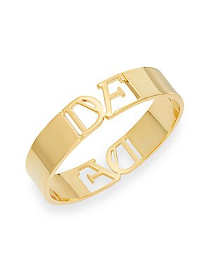 Belle de Jour Cutout Bangle Bracelet