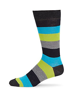 High Contrast Mid-Calf Socks