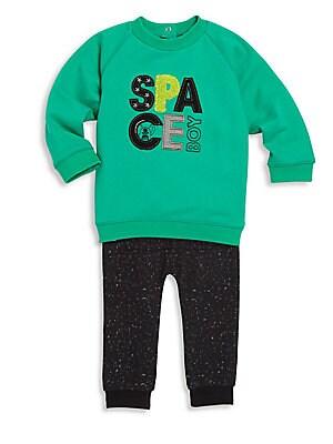 Baby's Sweater & Pants Set