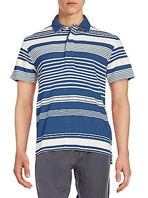 Variegated Stripe Polo Shirt