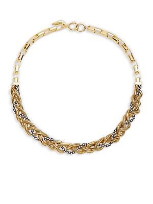 Holiday Pave Collar Necklace
