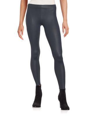 Sleek Nylon Leggings