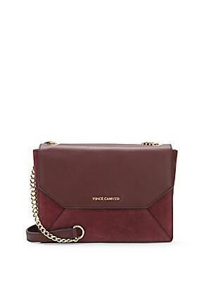 Elois Leather Shoulder Bag