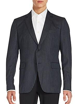 Austin Fit Pinstriped Wool Sportcoat
