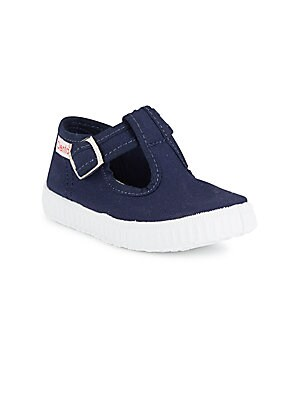 Baby's Canvas T-Strap Flats