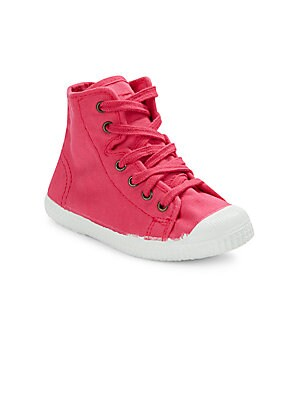 Baby's High Top Canvas Sneakers