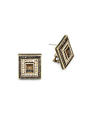 South Sea Riches Earrings Swarovski Stud Earrings