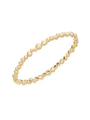 Click here for 18K Yellow Gold Bangle Bracelet prices