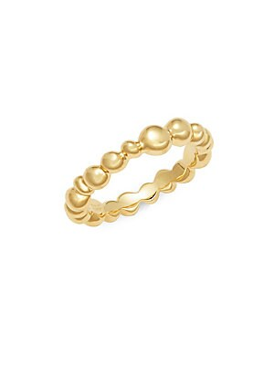 Click here for 18K Yellow Gold Molten Ring prices
