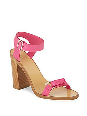 Palba Leather Ankle Strap Sandals