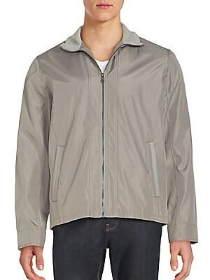 Long Sleeve Zipped Jacket