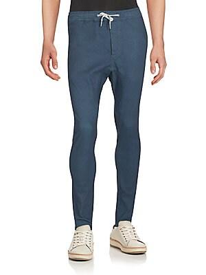 Salerno Denim Jogger Pants