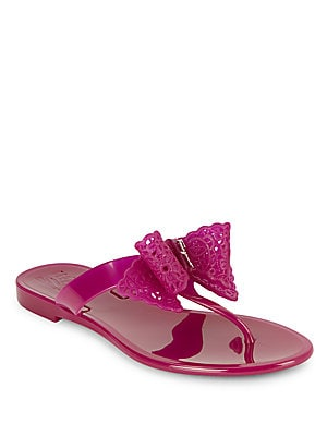 Jelly Thong Slide Sandals