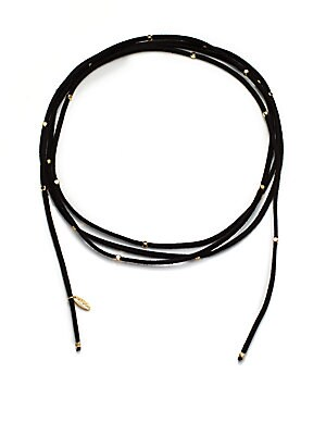 Ettika Handmade Suede Wrap Necklace