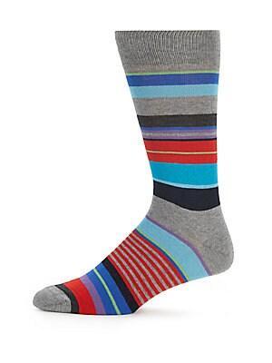 Multicolored Cotton Blend Socks