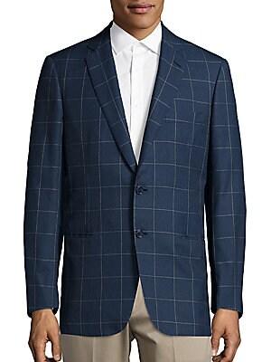 Check Pattern Sport Coat