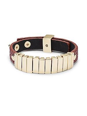 Faux Leather Bracelet