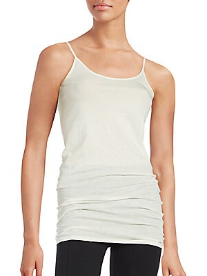 Cotton & Cashmere Tank Top