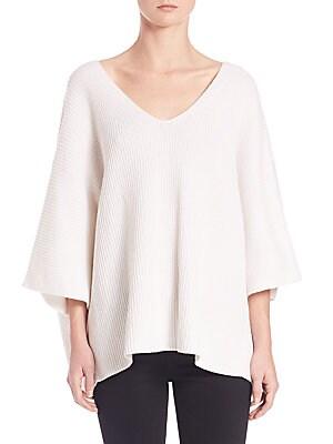 Cotton & Cashmere Dolman Sweater