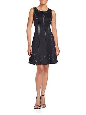 Geometric Pattern Dress