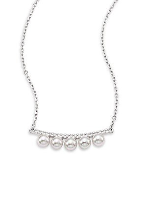 Brooke Five-Pearl Necklace