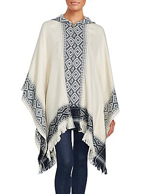 Fringed Hooded Cape