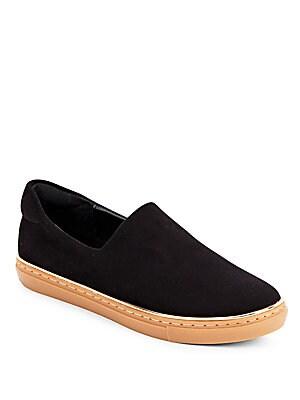 Almond Toe Slip-On Sneakers