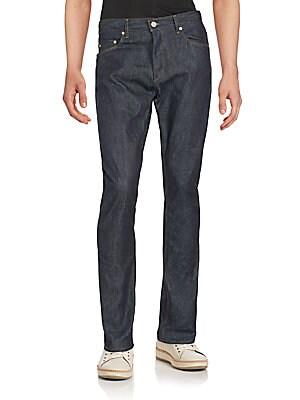michael kors male 124308 slimfit straightleg jeans