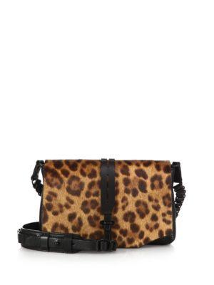 Enfield Calf Hair Mini Chain Shoulder Bag Rag   Bone