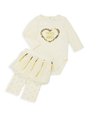 Baby's Bodysuit & Legging Set