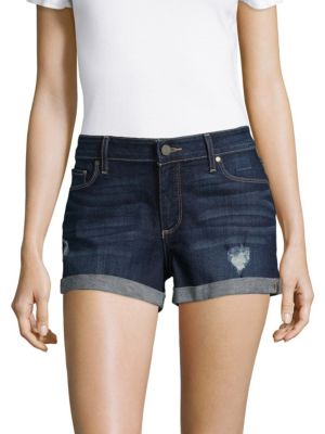 Rolled Denim Shorts PAIGE