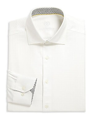 Cotton Shaped Fit Dress Shirt