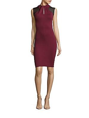 Tania Tuck Sleeveless Bodycon Dress
