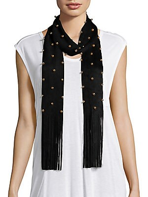 Bauble Studded Scarf