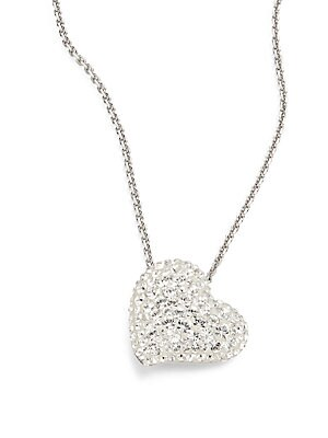 Alana Crystal Heart Pendant Necklace