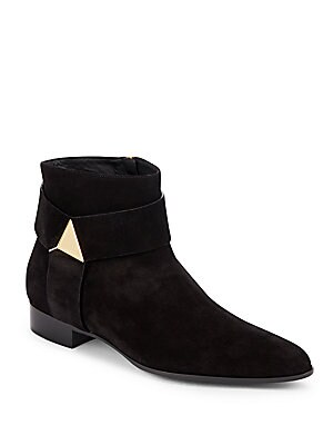 Blade Leather Ankle Boots