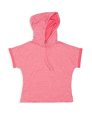 Girl's Terry Hooded Top