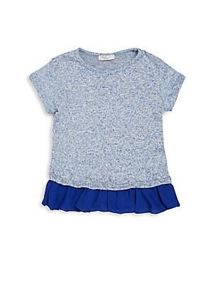 Little Girl's Ruffled Hem Dress