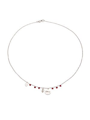 Click here for 14K White Gold Love Necklace prices