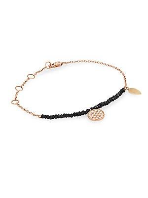 Click here for Diamond & 14K Rose Gold Bracelet prices