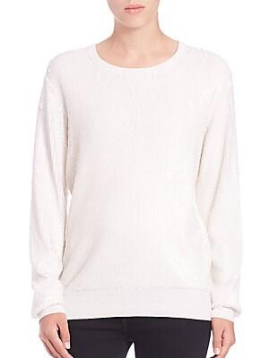 Shane Sequin Crewneck Sweater